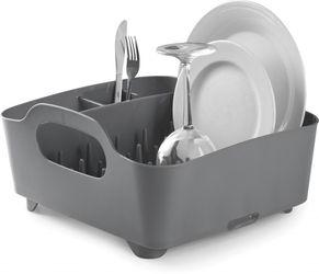 Geschirrkorb Tub - Grau - Umbra